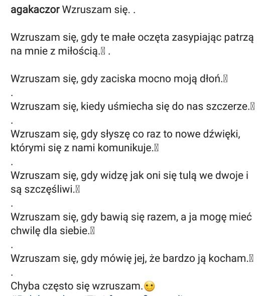 Agnieszka Kaczorowska Napisała Wiersz Begiopl